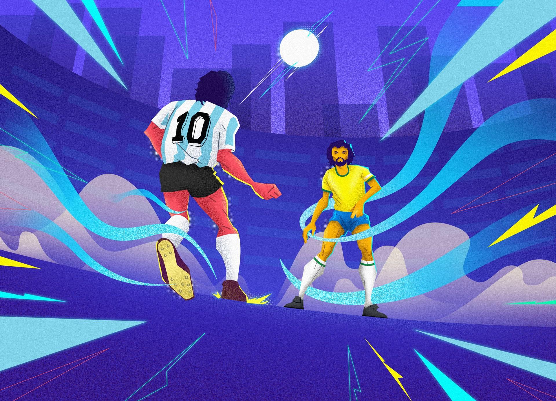 Socrates-e-Maradona 1